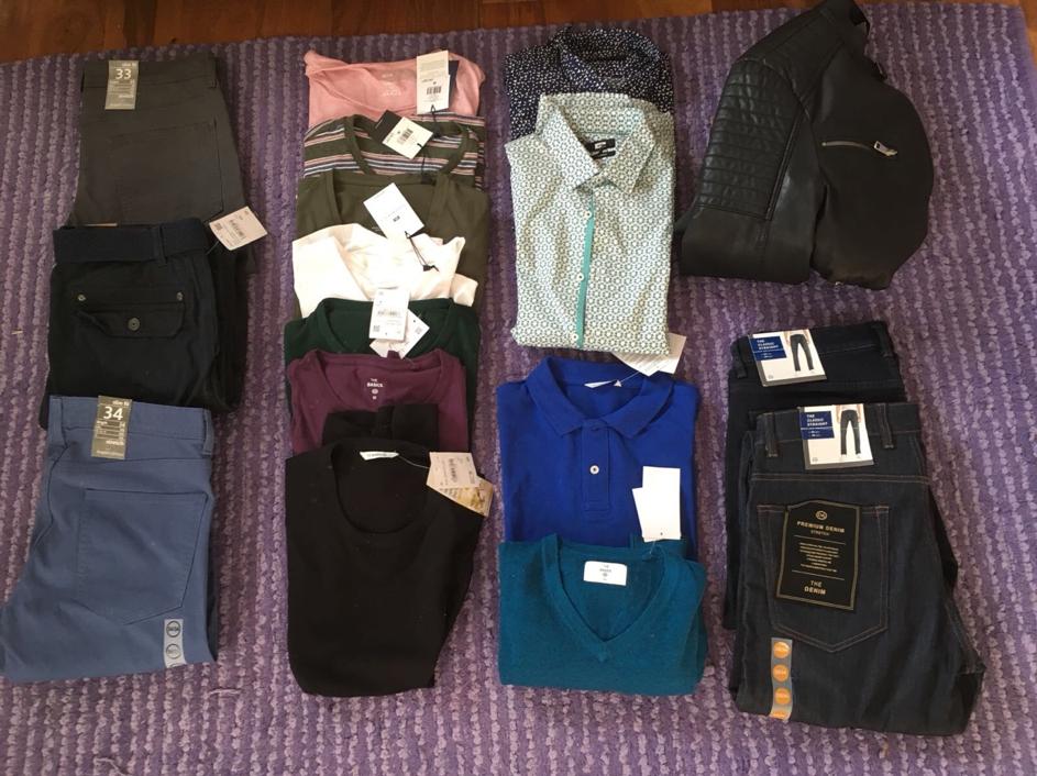 Choix garde robe avec coach en image