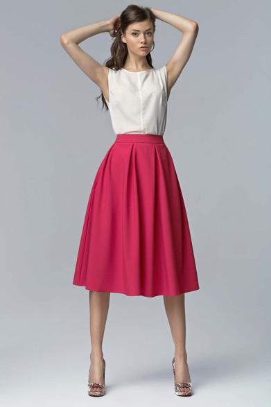 une jupe évasée style années 50