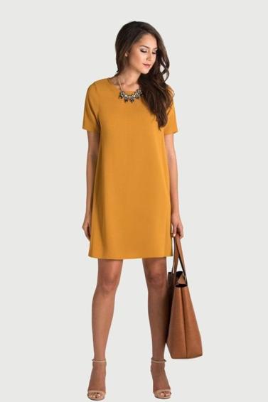 robe droite, style années 20