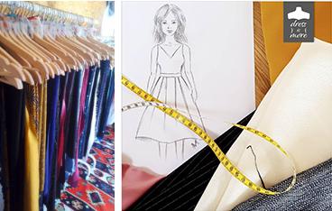 Conception de vêtements sur mesure