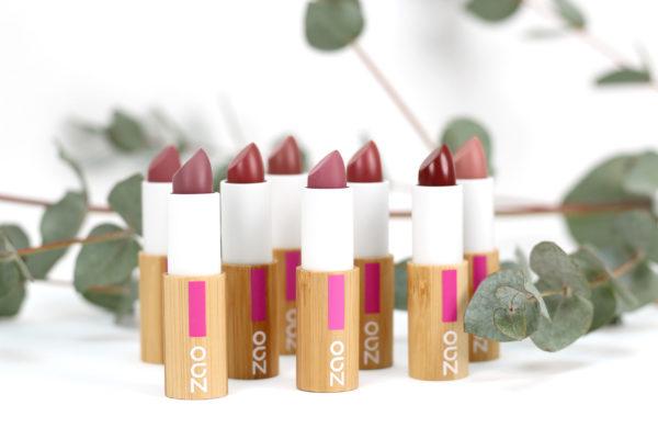 Rouge à lèvres cocoon soin naturel, bio, vegan Zao