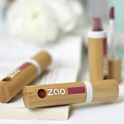 gloss mat naturel et bio Zao