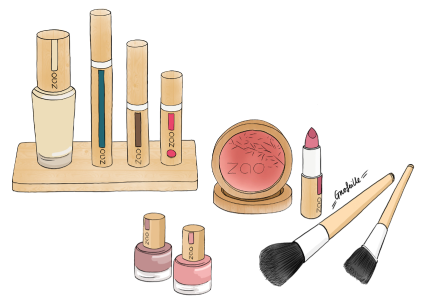 maquillage zao naturel et bio